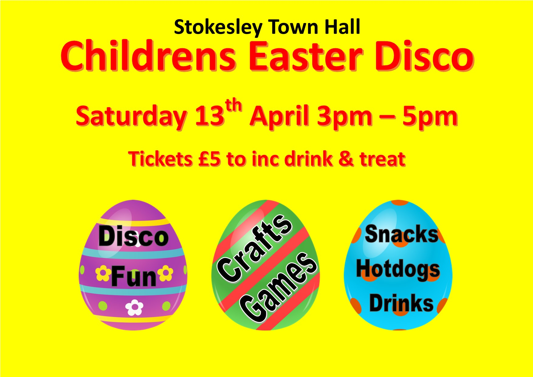 Childrens Easter Disco
