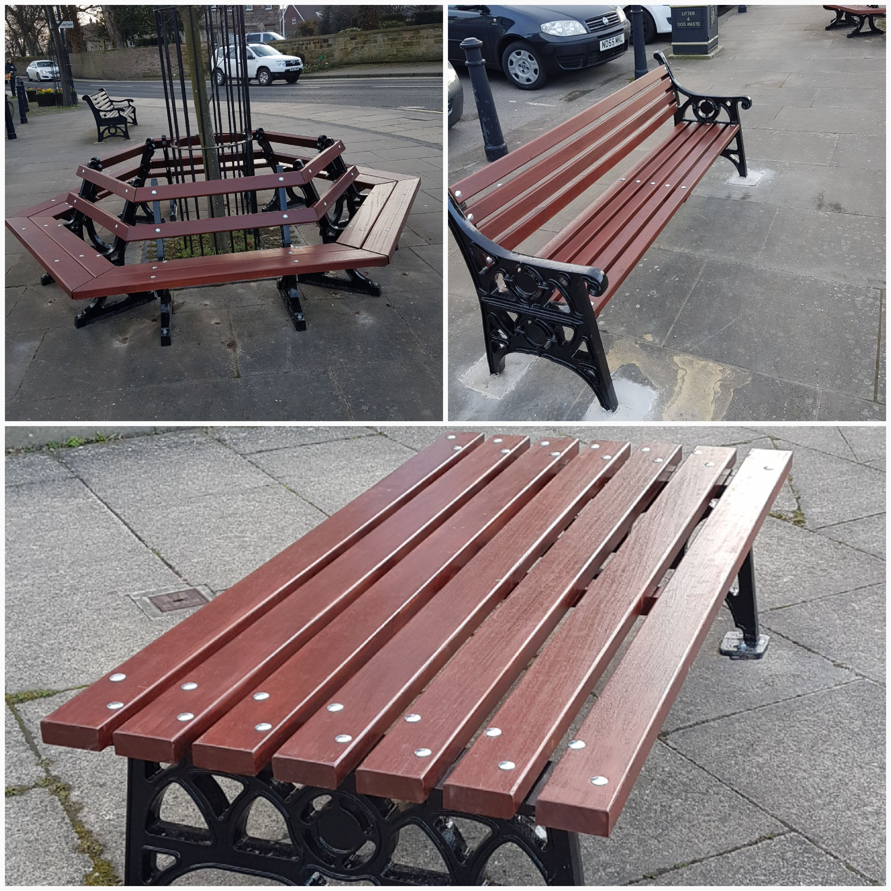 Bench Refurbishment