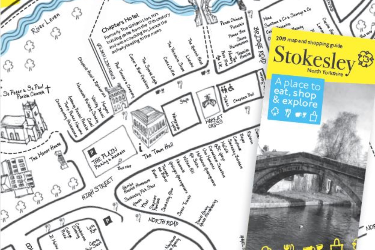 Stokesley Town Map